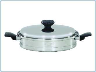 Lifetime Cookware 12.5 Inch Skillet