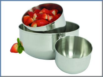 Lifetime Cookware Mixing Bowls