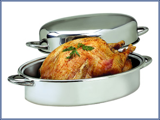 Lifetime Cookware Oval Roaster