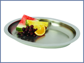 Lifetime Cookware Oval Tray