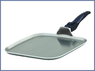 Lifetime Cookware Square Griddle